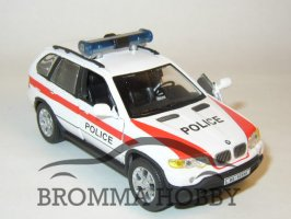 BMW X5 - Swiss Police